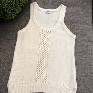 Madewell Wallace Knit Tank Blouse Size Small